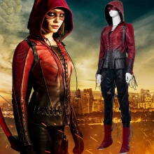 Quality Green Arrow Costume Scud Thea Quinn Cosplay for Women
