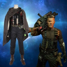 Quality Deadpool 2 Nathan Cosplay Costume
