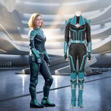 Captain Marvel Cosplay Costume Women Carol Danvers Jumpsuits