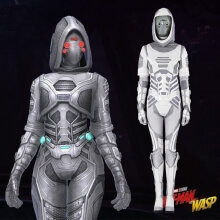 Ant-Man and the Wasp Ghost Cosplay Costume John Morley Full Set Costume For Women
