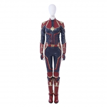 Carol Danvers Cosplay Costume Captain Marvel Jumpsuits