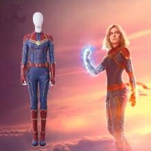 Captain Marvel Jumpsuits Carol Danvers Cosplay Costume