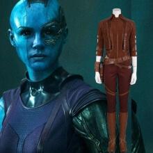 Avengers Endgame Marvel Nebula Full Set Outfit Cosplay Costume for Women