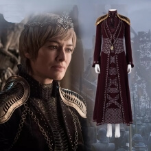 Game of Thrones Season 8 Cersei Lannister Cosplay Costume