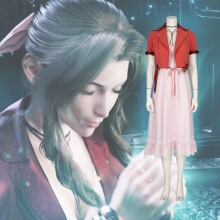 Quality Final Fantasy 7 Aerith Cosplay Gainsborough Costume