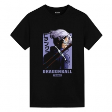 Trunks Tee Shirt Dragon Ball Super Black Anime Shirt