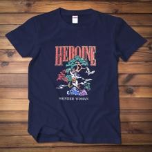 <p>Wonder Woman Tee Superhero Cotton T-Shirts</p>