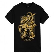 Saint Seiya Sagittarius black Tshirts Anime Shirts Cheap