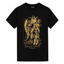 Saint Seiya Virgo Black Tshirt Anime T Shirts Online