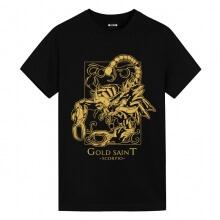 Saint Seiya Scorpio black Shirt Anime Boy Shirt