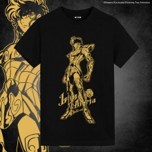 Saint Seiya Brozing Leo Aiolia Shirts Anime Printed T Shirts