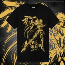 Saint Seiya Brozing Aries Mu Shirt Japanese Anime Shirts