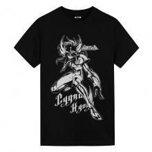 Cygnus Hyoga T-Shirt Saint Seiya Anime Girl White Shirt