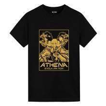 Saint Seiya Athena Exclamation Shirt Anime Clothes For Men