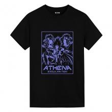 Athena Exclamation Tee Shirt Saint Seiya Mens Anime T Shirts