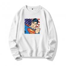 <p>Superman Tops Marvel Cotton Sweatshirts</p>