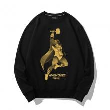 Marvel Superhero Thor Bronzing Sweatshirts Coat
