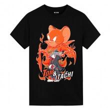 Tom and Jerry Uchiha Itachi Tom Tshirt Anime Shirts Cheap