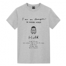 Hulk Manuscript Design Tshirts Ladies Marvel T Shirt