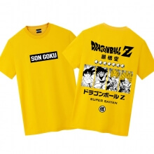 Dragon Ball Z Goku Tshirt Cool Anime T Shirts