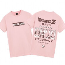 Dragon Ball Majin Buu Shirts Mens Anime Shirts