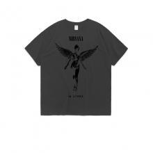 <p>Nirvana Tee Music Cotton T-Shirts</p>