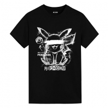 Ink Pokemon Ink Pikachu Tees Mens Anime T Shirts