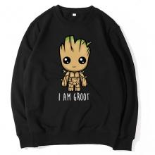 <p>The Avengers Coat Black Sweatshirts</p>