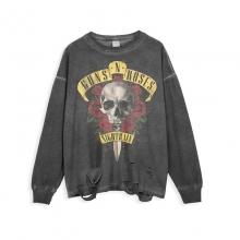 <p>Guns N&#039; Roses Tees Musically Ripped Retro Style T-Shirts</p>