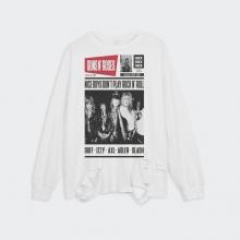 <p>Rock N Roll Guns N&#039; Roses Tee Ripped Retro Style T-Shirt</p>
