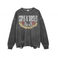 <p>Ripped Retro Style Shirts Rock Guns N&#039; Roses T-Shirts</p>