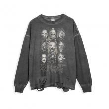 <p>Rock Slipknot Tees Retro Style T-Shirt</p>
