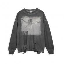 <p>Nirvana Tee Musically Hip Hop Retro Style T-Shirts</p>