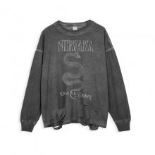 <p>Hip Hop Retro Style Shirts Rock Nirvana T-Shirts</p>