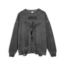 <p>Nirvana Tee Rock and Roll Hip Hop Retro Style T-Shirts</p>