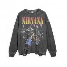<p>Hip Hop Retro Style Tshirt Rock Nirvana T-shirt</p>