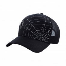Unisex Black Baseball Cap Personality High Quality Design Sun Hat 100% Cotton Breathable