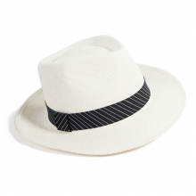 Female Summer Panama Hat Personality Sun Hat Girls Anti-UV Beach Hat Panama Grass White