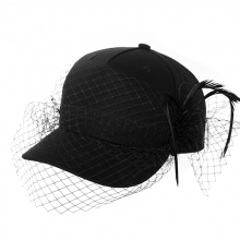 Spring Baseball Hat Black Summer Leisure Travel Sun Hats Female Cotton Adjustable Ladies