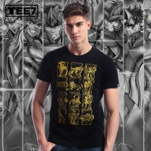 Limited Edition Saint Seiya Gold Cloth T-shirt