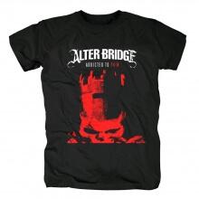 Alter Bridge Addicted To Pain T-Shirt Metal Rock Shirts
