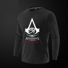 Assassin's Creed Origins Tee Red Long Sleeve Tshirt