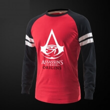 Assassin's Creed Origins Tshirt Long Sleeve Black Tee