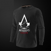 Assassin's Creed Unity Tshirt Men Long Sleeve Tee