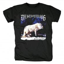 Australia Destroyer666 Unchain The Wolves T-Shirt Metal Shirts