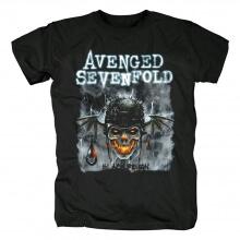 Avenged Sevenfold Black Reign Tshirts California Hard Rock Metal T-Shirt