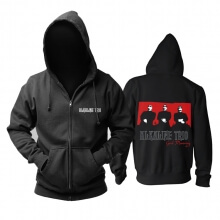 Awesome Alkaline Trio Good Mourning Hoody Chicago, Usa Rock Band Hoodie