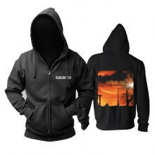 Awesome Alkaline Trio Maybe I'Ll Catch Fire Hoodie Punk Rock Band Sweat Shirt