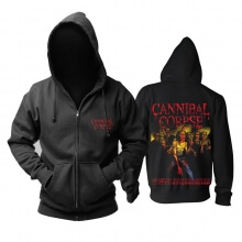 Awesome Cannibal Corpse Hoodie Metal Punk Rock Band Sweat Shirt