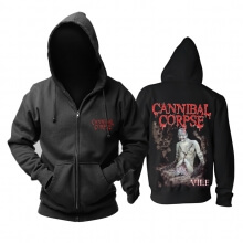 Awesome Cannibal Corpse Worm Infested Hooded Sweatshirts Metal Rock Hoodie